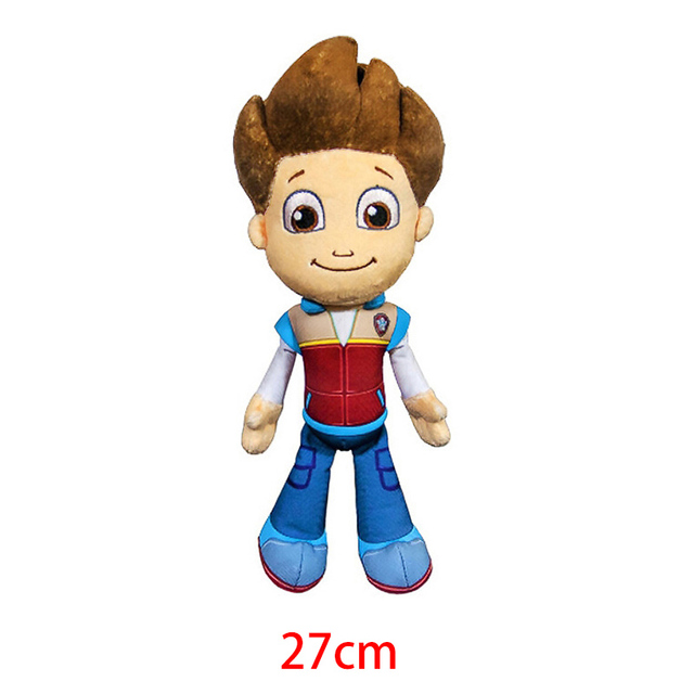 Paw Patrol Ryder Everest Tracker Cartoon Animal Stuffed Plush Toys Model Patrols Toys Party Dolls For Child Birthday Xmas Gift 2