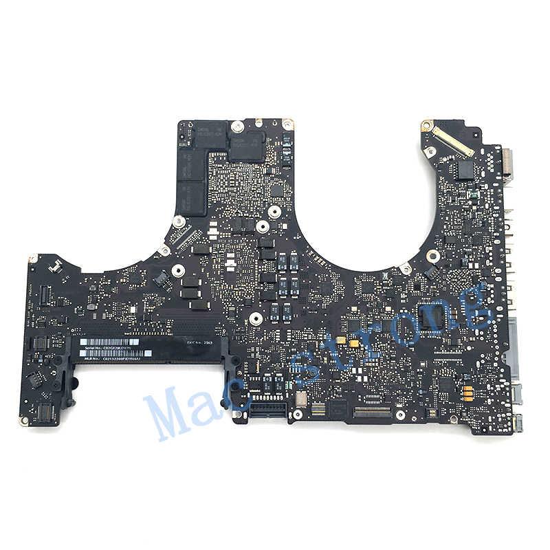 """Testowana oryginalna płyta główna A1286 dla MacBook Pro 15 """"płyta główna 2010 2.4G 820-2850-A/B 2011 i7 2.0G 820-2915-A/B 2012"""