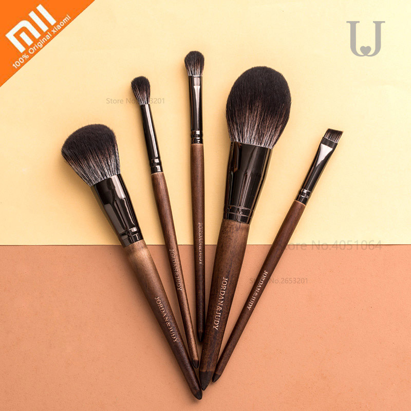 Xiaomi Youpin Jordan&Judy Makeup Brush Set Powder Blush Brush Eye Shadow Brush Sandalwood Set Brush Full Beauty Tools Mijia|Smart Remote Control| |  - title=