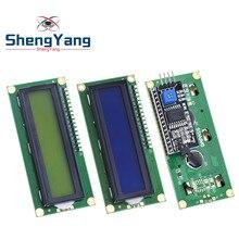 1 шт. модуль ЖКД синий зеленый экран IIC/igc 1602 для arduino 1602 lcd UNO r3 mega2560 lcd 1602