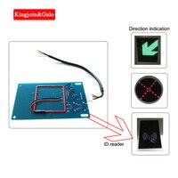 Sistema de controle acesso tripé torniquete leitor cartão controle acesso placa circuito id 125 khz sistema controle acesso separado módulo