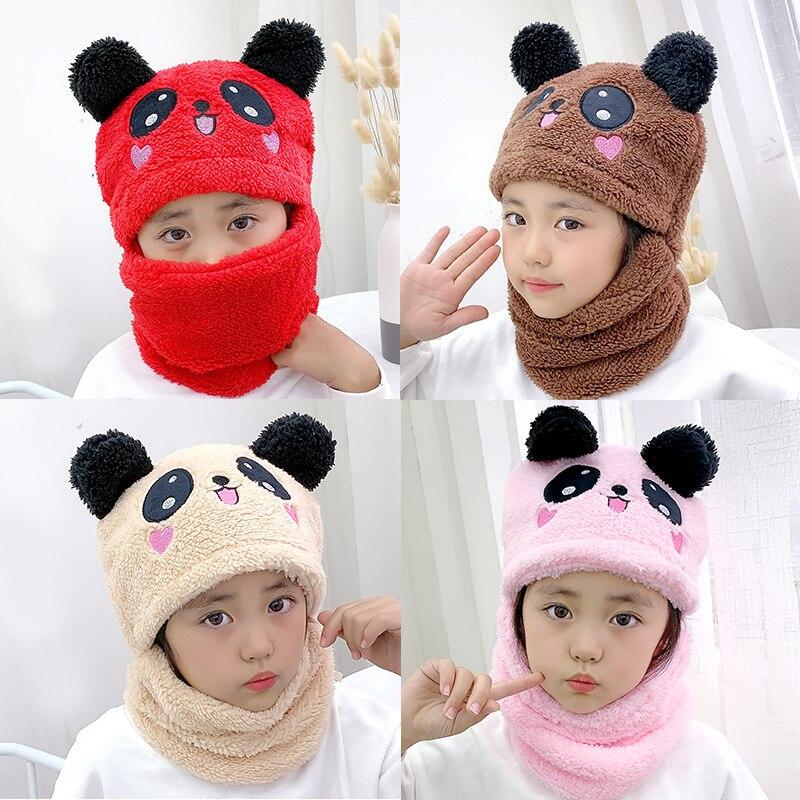 Купить дети для маленьких мальчиков и девочек зимний теплый плюш шапки