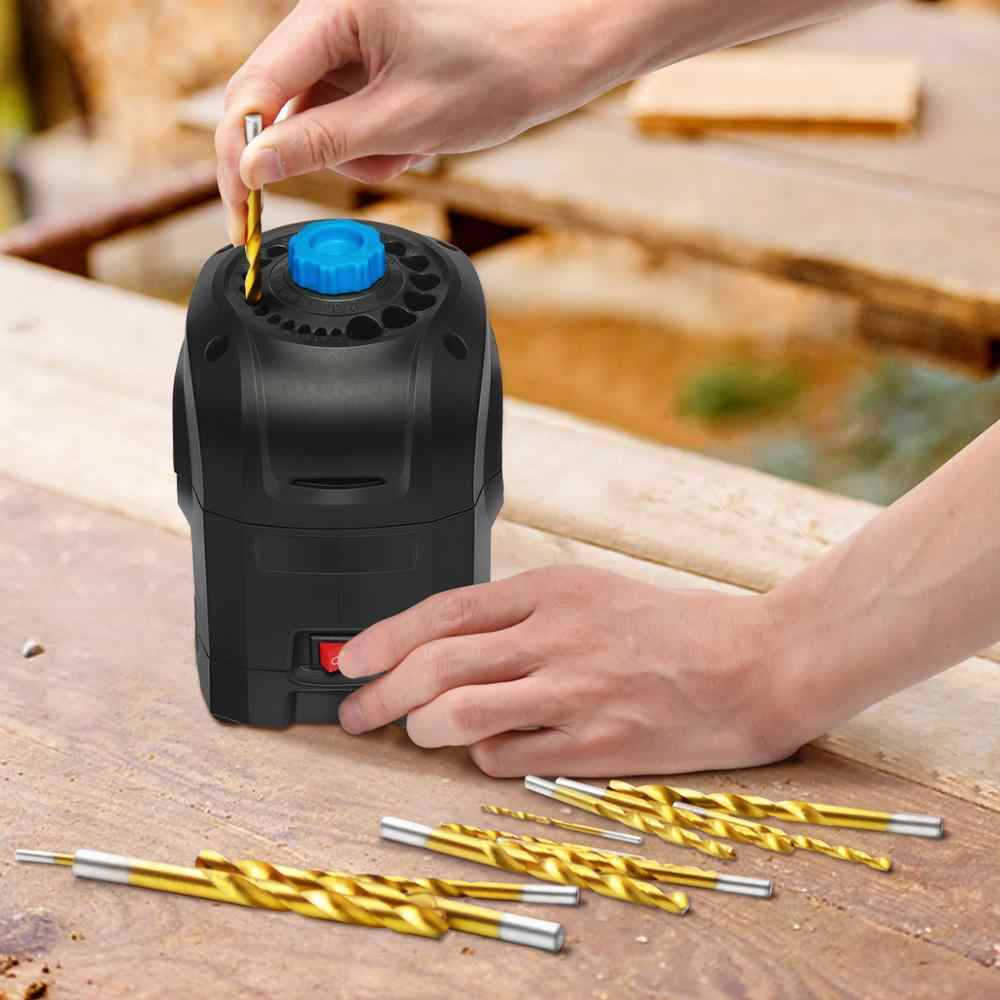 PROSTORMER 3-12mm Electric Drill Bit Sharpener Drill Grinding Machine 95W High Speed Household Grinding Tools