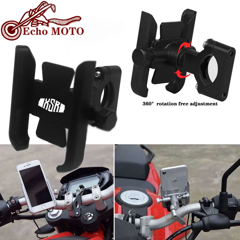 For YAMAHA XSR700 XSR 700 XSR900 XSR 900 Motorcycle Accessories handlebar Mobile Phone Holder GPS stand bracket