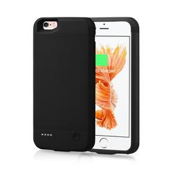 Para o iphone 6s 7 8 caso carregador de bateria 2500 mah externo power bank capa de carregamento para o iphone 6s 7 8 bateria caso