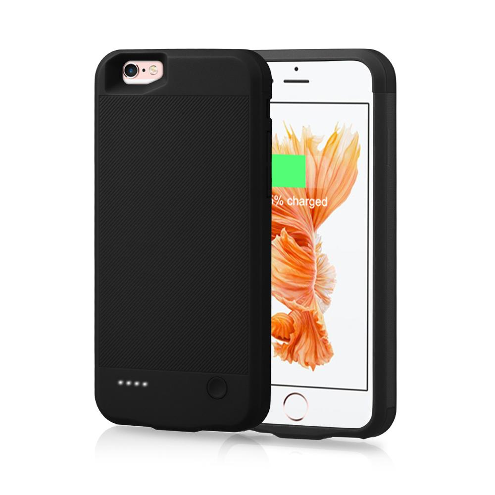 For IPhone 6 6s 7 8 Battery Charger Case 2500mAh External Power Bank Charging Cover For IPhone 6 6S 7 8 Battery Case