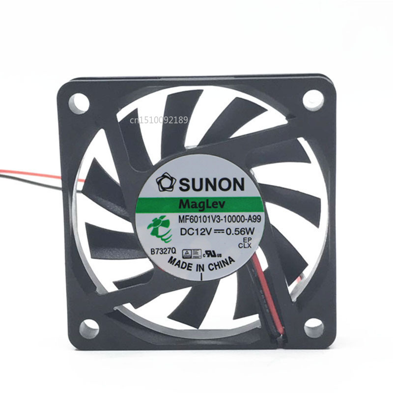 For Original MF60101V3-10000-A99 6010 60mm Fan 60x60x10mm DC 12V 0.56W Ultra-quiet Cooling Fan Free Shipping