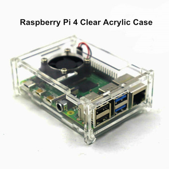 sunfounder smart remote control video car kit for raspberry pi 3 with android app compatible with rpi 3 2 and rpi 1 model b Hottest Raspberry Pi 4 Model B Clear Acrylic Case Enclosure Box Raspberry Pi 3B+ Protective Shell for RPI 4B with Cooling Fan
