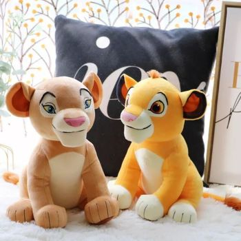 New style 11.8'' 30cm 2020 Disney The Lion King Simba Nala Young Simba Stuffed Animals Doll Mufasa Plush Toy Children toy Gifts