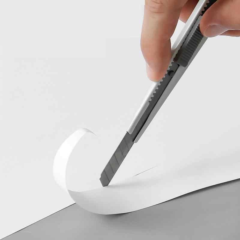 Цветной Художественный нож Kinbor Morandi, искусственный нож для бумаги и офиса, нож для творчества, нож для резки, канцелярский нож