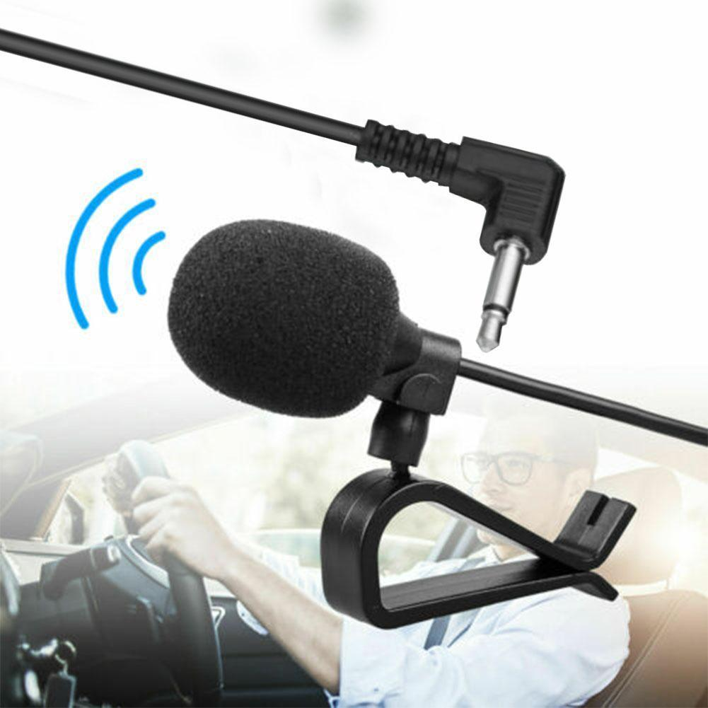 Car audio microphone clip jack plug microphone stereo wired mini external DVD suitable radio professionals microphone For c V8Z7