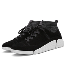 Fashion Trend Flying Weaving Socks Men Running Shoes Wear Shock Absorbing Outdoor Sports Shoes men Sneakers Male Athletic Shoes цена