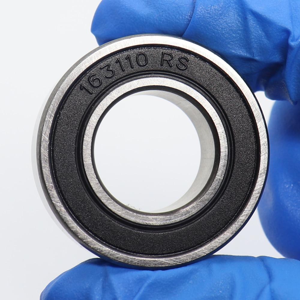 163110-2RS шариковый подшипник 16*31*10 мм 4 шт. ABEC-3 хромированная сталь двойные герметичные 163110RS велосипедные подшипники для IRD нижних скоб