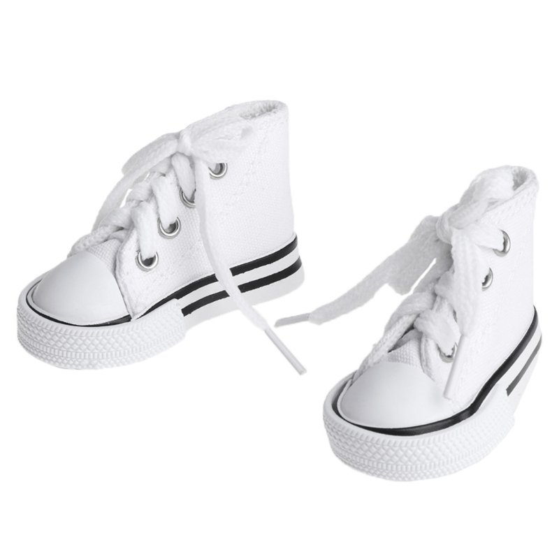 Doll Shoes 1/4 Accessories Canvas Fashion Summer Toys Mini Sneakers Denim Boots Y4QA