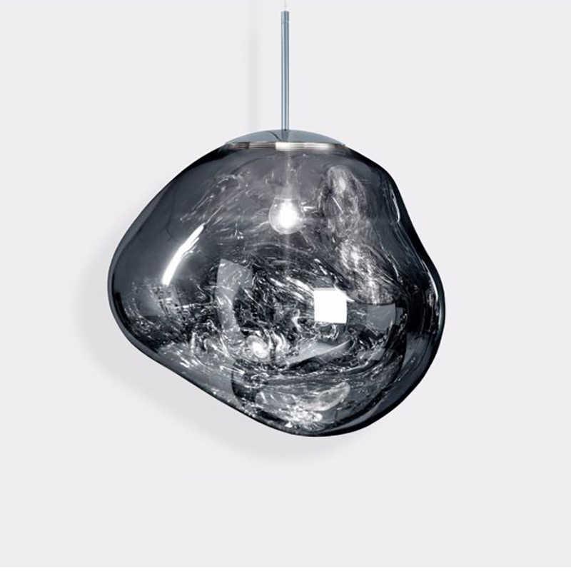 Moderne Decor LED Beleuchtung Leuchten DIXON Schmelzen Lava Anhänger Lichter Lustre Lampe Loft Anhänger Hängen Lampe Küche Leuchten