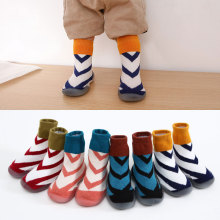 2019 new baby anti-slip floor shoes socks toddler shoes non-slip socks shoes terry warm children socks baby booties  baby shoes
