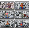 Japanese Characters Pictures Anime Posters Canvas Painting and Prints Cuadros Art Decoration Mural Home Baby Room Wall Decor
