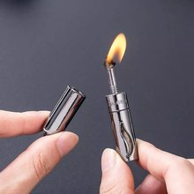 Керосиновая мини зажигалка для кемпинга зажигалки с постоянным