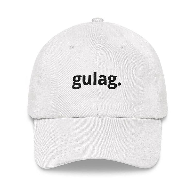Модная бейсболка в стиле хип-хоп, кепка для папы с вышитыми буквами gulag, мужские и женские универсальные шапки, регулируемые спортивные кепк...