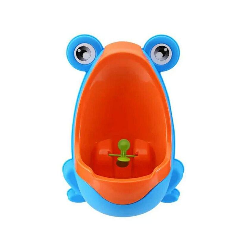 Boy Baby Urinal Cartoon Children Frog Urinal Wall-Mounted Stand-up Boys' Urinal Urinal