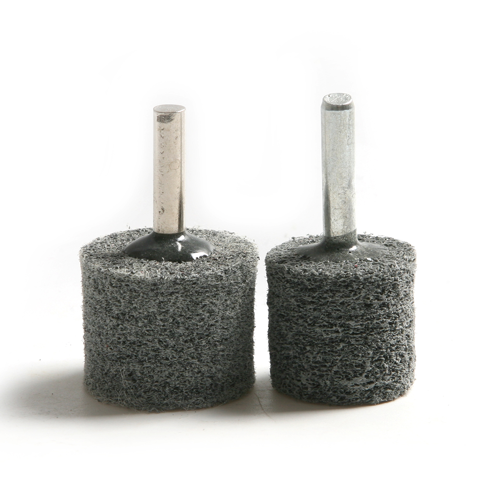 5 PCS 25/30 *6 Mm Dremel Accessories Furniture Metal Cylinder Nylon Polishing Grinding Head Petiole Rotary Tools