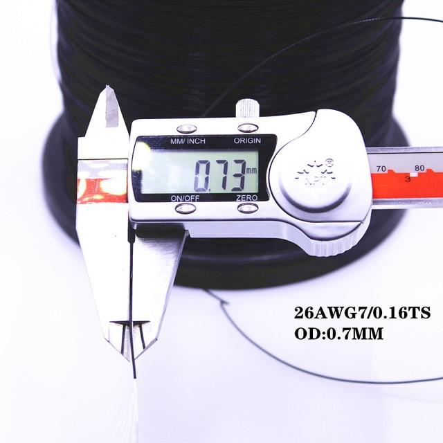 Câble et câble Ultra-fin   Téflon, appareil électrique ultrafino de alta températura 26AWG 28AWG 30AWG 32AWG 34AWG