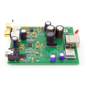 Image 4 - SPDIF Interface USB decoder ES9028Q2M + AD823 + SA9023  ES9038 DAC computer Sound Card headphone amplifier not need power supply