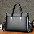 Daishu MEN'S Real-leather Bag Soft Leather MEN'S Handbag Cross Briefcase Men's Business Casual Shoulder Bag Customizable Logo