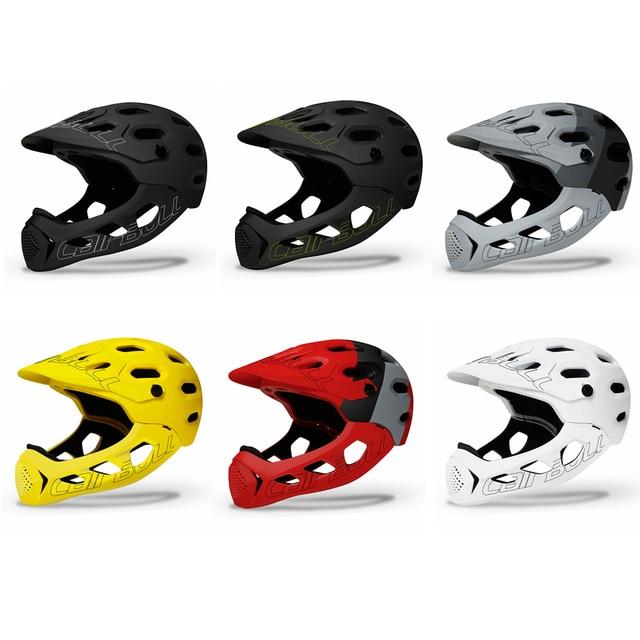 Cairbull adulto rosto cheio capacete da bicicleta mtb mountain road bicicleta cheio coberto capacete da motocicleta dh downhill ciclismo capacete trilha 2