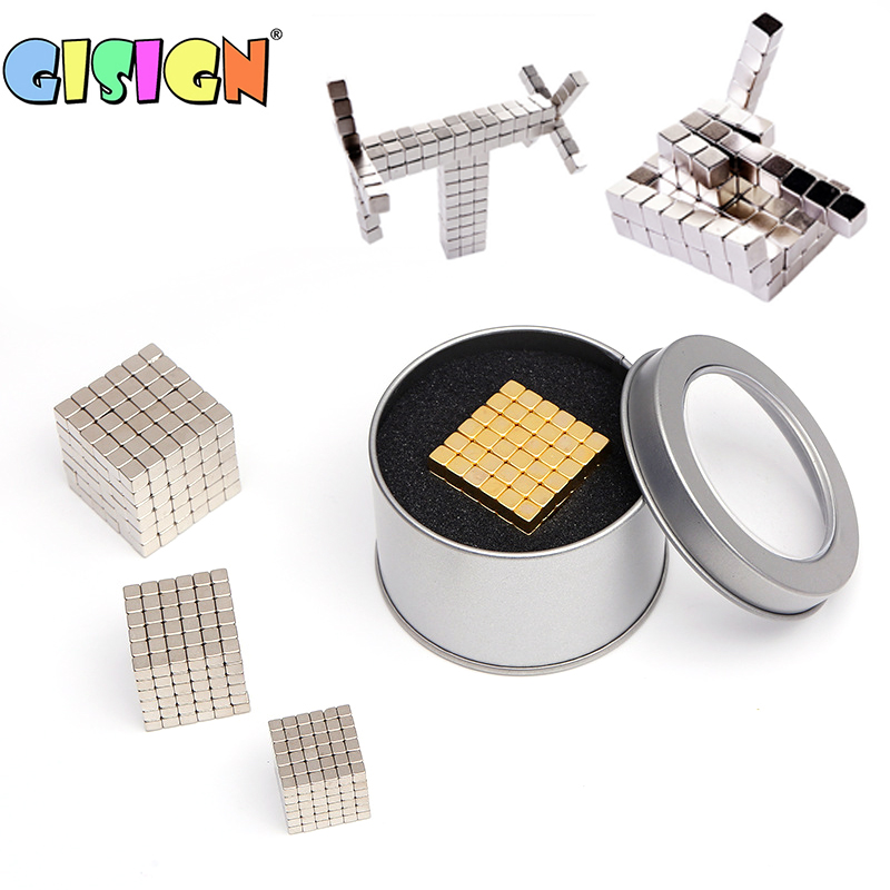 216Pcs 3MM Super DIY Assemble Magnet Blocks Magnetic Balls Creative Cube Puzzle Kids Bulding Toys Educational Toys For Child