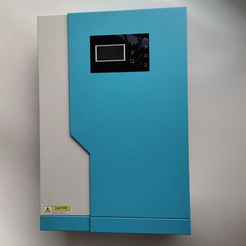 3 5KW falownik wysokiego napięcia 24V100A MPPT hybrydowy falownik solarny 3500W 220V On-off siatka hybrydowy falownik czysta fala sinusoidalna falownik tanie i dobre opinie YPAY CN (pochodzenie) Falowniki 100*300*440MM MPS-V-3500W-PLUS 50HZ60HZ 12 5KG Pure Sine Wave Less 35W 4000W 120-450Vdc