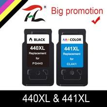 Substituição do cartucho de ylc pg440 cl441 para canon pg 440 cl 441 440xl cartucho de tinta para pixma mg4280 mg4240 mx438 mx518 mx378