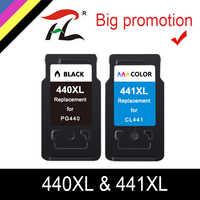 YLC PG440 CL441 cartouche de remplacement pour Canon PG 440 CL 441 440XL cartouche d'encre pour Pixma MG4280 MG4240 MX438 MX518 MX378