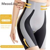 MeooLiisy Shapewear für Frauen Bauch-steuer Shorts Hohe Taille Panty Mittleren Oberschenkel Body Shaper Body Gestaltung Dame