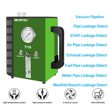 купить TULANAUTO Smoke Leak Detectors  T110 12V DC Pipe Leakage Tester Support EVAP  For Car Truck SUV Diagnostic Tool дешево