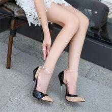 Spring Autumn Fashion Women High-heeled Shoes Sexy Super High 16 CM High heels Size 35 - 46 Female Pumps 02A