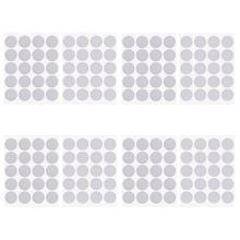 100 пар Dots стикер крюк петля Двусторонняя самоклеящаяся нейлоновая лента оснастка