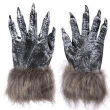 Novel Glove Props Halloween Werewolf Gloves Paws Costume Accessory
