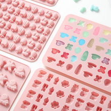 QQ Candy Fruit Animal Gummy Silicone Mold Epoxy mold Chocolate Jelly Cookies High temperature resistant, easy to demould