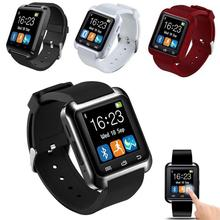 2020 New U8 Bluetooth SmartWatch Sleep Monitor Remote Camera Pedometer For IOS Android   smart Clock Wearable Device Smartwatch стоимость