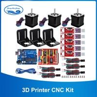 3D Drucker CNC Kit  für Arduino GRBL Schild + UNO R3 Bord + RAMPEN 1 4 Mechanische Schalter Endstop + DRV8825 Motor Fahrer + Nema 17 motor-in Schrittmotor aus Heimwerkerbedarf bei