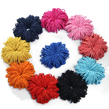 Girls Elastic Hair Ties 100PCS/Set Band Rope Ponytail Rubber String Hair Accessories Multicolor Small Children Kids Hairbands(China)