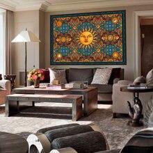 Гобелен sun креативный Настенный декор в стиле бохо настенный