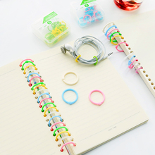 Colorful Plastic Book Rings Multi-Function Creative Loose-Leaf Binder Ring For DIY Album Hoops Office Binding