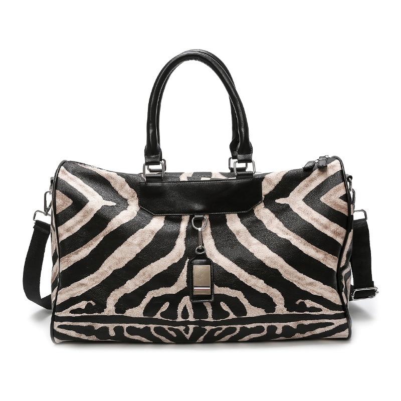Gym Bag Leather Sports Bags Big Men Women Training Handbag Shoes Lady Fitness Yoga Travel Luggage Shoulder Black Sac De Sport