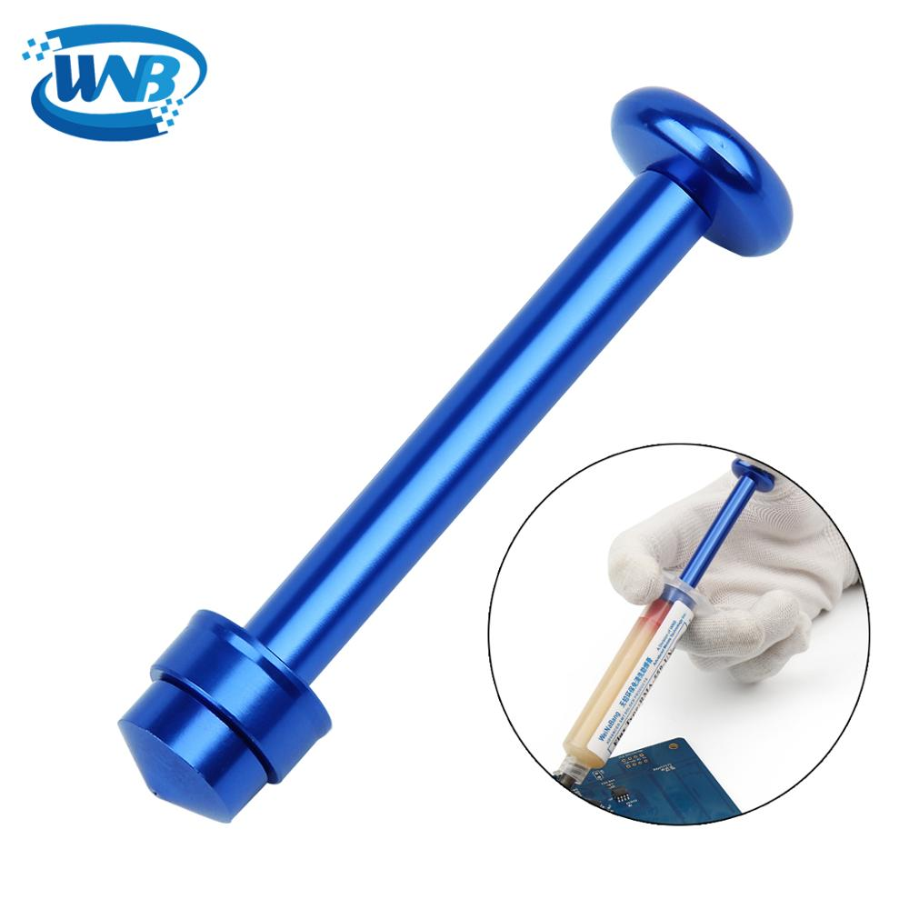 WNB Convenience Use Alloy Steel Tube Piston For 10cc 559 Solder Flux Paste Soldering Repair Tools MECHANIC Welding Accessories
