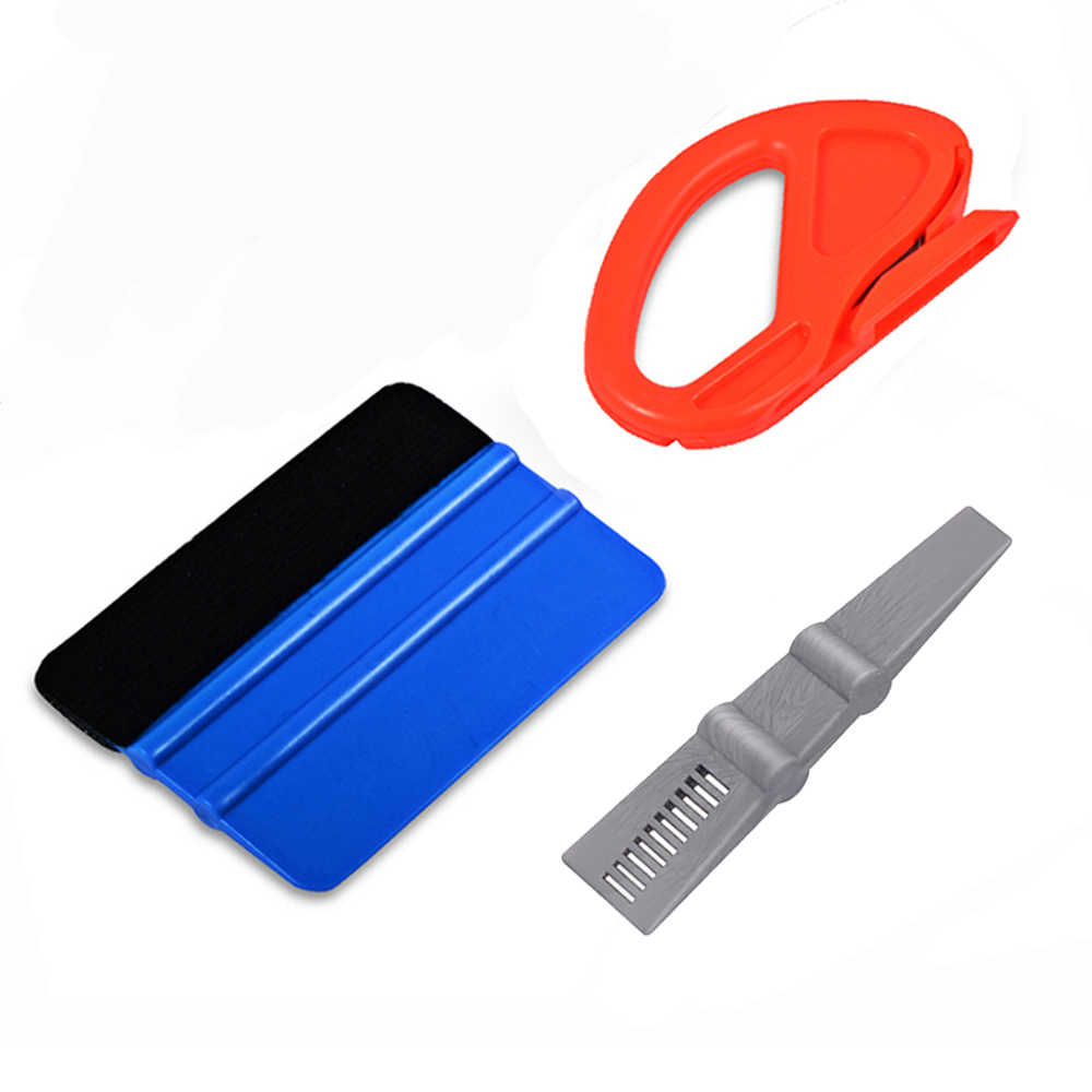 EHDIS Window Tints Tool Vinyl Wrap Car Squeegee Scraper Carbon Foil Film Car Sticker Cutter Knife Auto Car Tinting Accessories