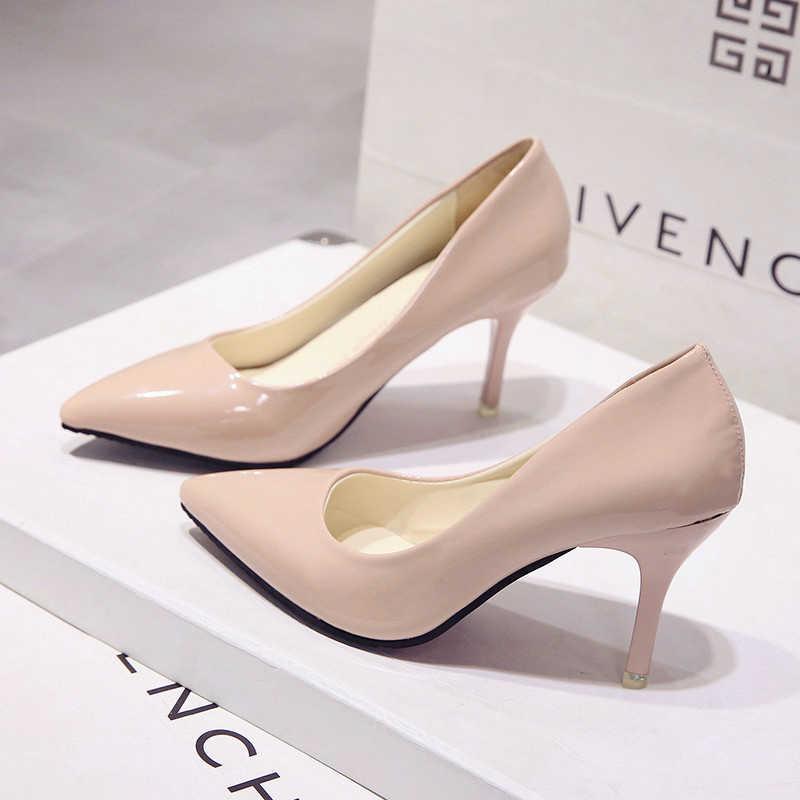 Koreanische version des neuen mode wilden wies high heels multi-farbe große größe persönlichkeit damen high heels