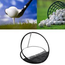 Гольф всплывающие Крытый Открытый скалывание качки клетки коврики практика легкая сетка для гольфа учебные Инструменты Металл+ сетка
