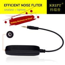 35 мм aux аудио фильтр шума цикличный изолятор устраняющий Автомобильный